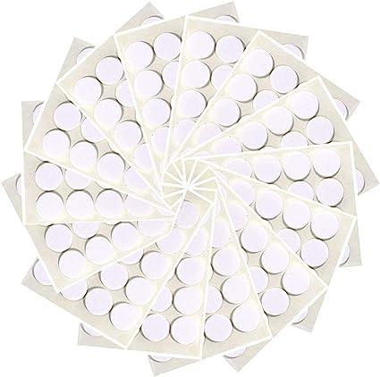 400 Piezas Pegatinas de Mecha de Vela, Adhesivo de Doble Cara Resistente Al Calor DIY Suministros de Fabricación de Velas Caseras para Fijar La Mecha