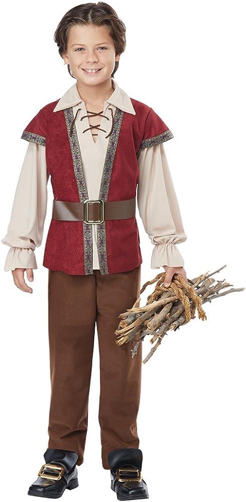 California Costume Renaissance Boy Costume