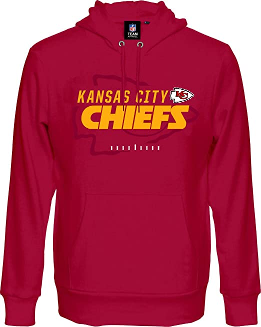 NFL Kansas City Chiefs - Sudadera con Capucha, Color Rojo, Rojo, XXX-Large: Amazon.es: Deportes y aire libre