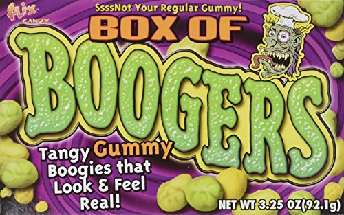 Box of Gummy Boogers (3.25 oz) 3 Boxes