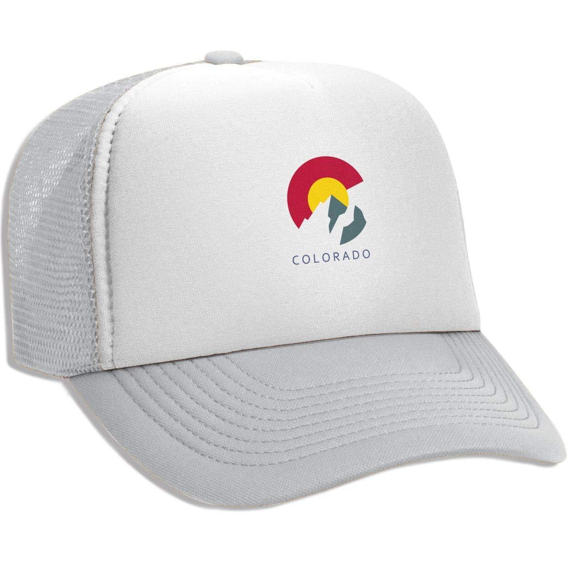 FKOGG Bandera de Colorado con Tapa de montaña, Sombrero de ...
