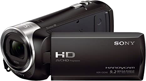 Sony HDR-CX240E - Videocámara, color negro: SONY: Amazon.es ...