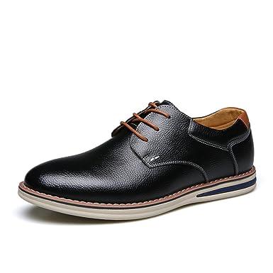 【ノーブランド品】カジュアルシューズ ビジネスシューズ メンズ 本革 ローファー 革靴 紐靴