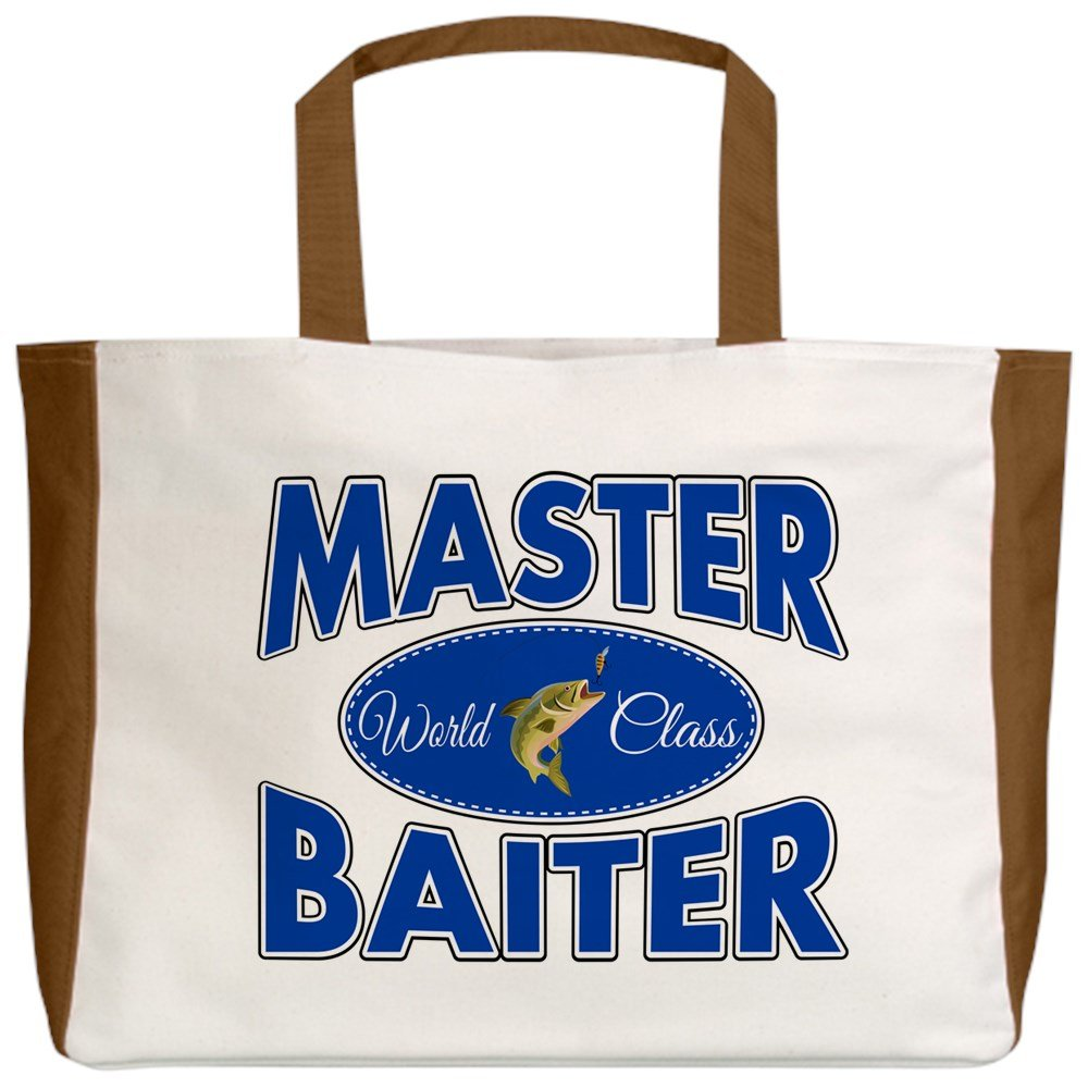2-Sided Fishing Master Baiter with Lure Royal Lion Beach Tote
