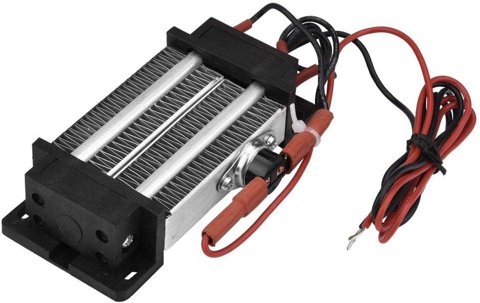 Suministro de calefacción de aire de cerámica como elemento de calefacción de aire estándar de termostato 220 V para la oficina con una potencia de 300 W para el hogar