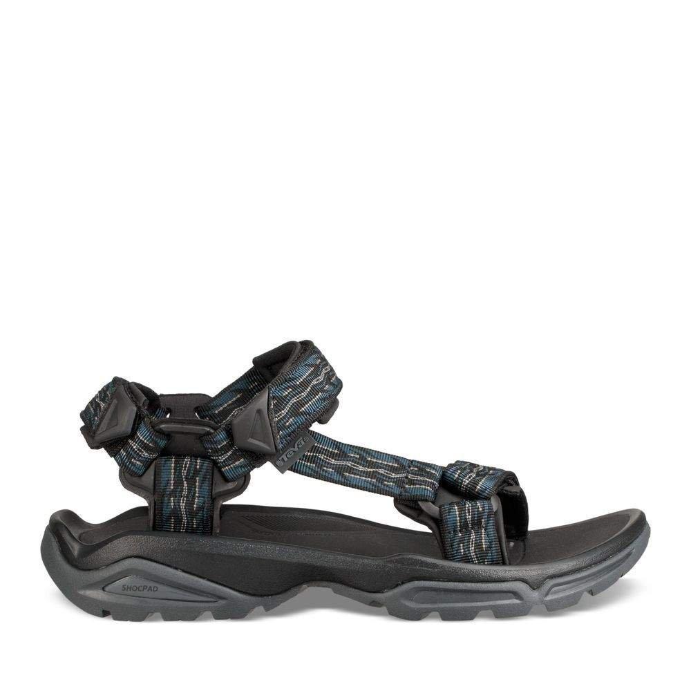 Teva Men's M Terra FI 4 Sandal, Firetread Midnight, 10 M US by Teva