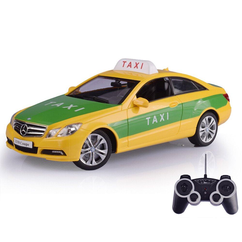 costo real Pinjeer Pinjeer Pinjeer 1 14 Modelo de Taxi de Control Remoto de Coches Juguetes Infantiles Modelo de Coche Regalo para niños de 4 años o más Adecuado para el hogar al Aire Libre Juego en Tierra  producto de calidad