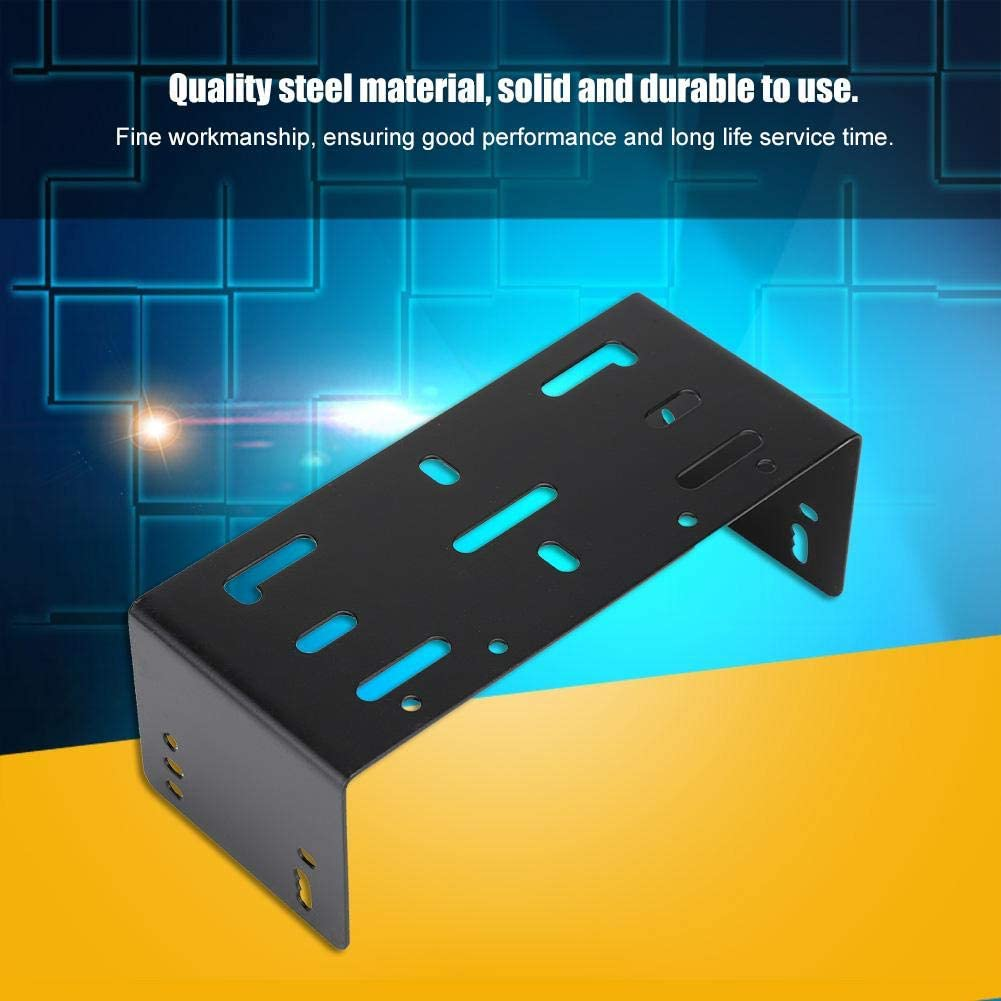 Socobeta Rust-Proof Portable Mounting Radio Bracket Durable Wear-Resisting Compatible with TK7160 TK7160H TK8160 with Screws for Two-Way Radio