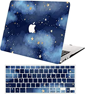 "ACJYX MacBook Pro 13 inch Case 2020 2019 2018 2017 2016 Release A2251 A2289 A2159 A1989 A1706 A1708, Plastic Hard Shell Case&Keyboard Cover for New MacBook Pro 13"",Star"