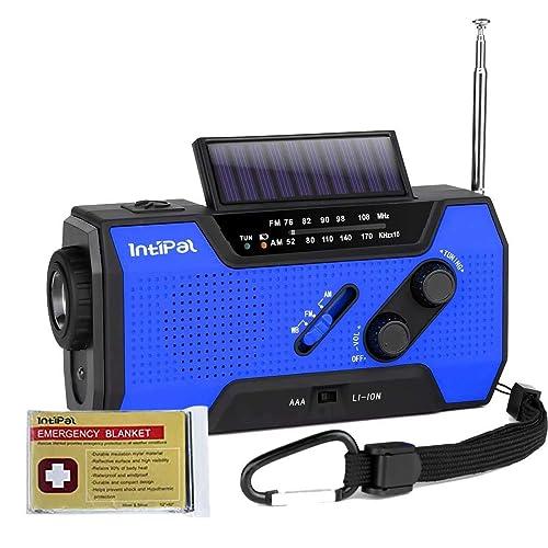 読書用のライトも付いているIntiPalの防災ラジオ
