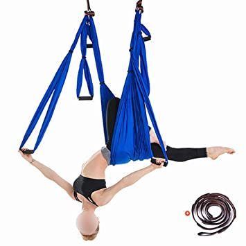 Amazon.com: Kajuer Aerial Yoga Hammock Set with ...