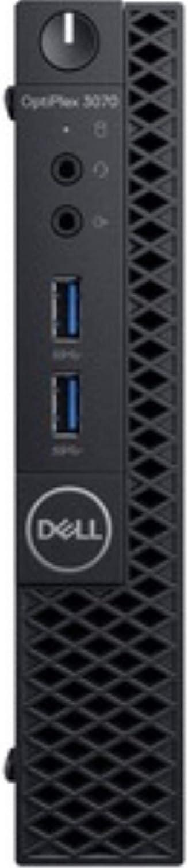 Dell OptiPlex 3070 Desktop Computer - Intel Core i3-9100T - 4GB RAM - 500GB HDD - Micro PC