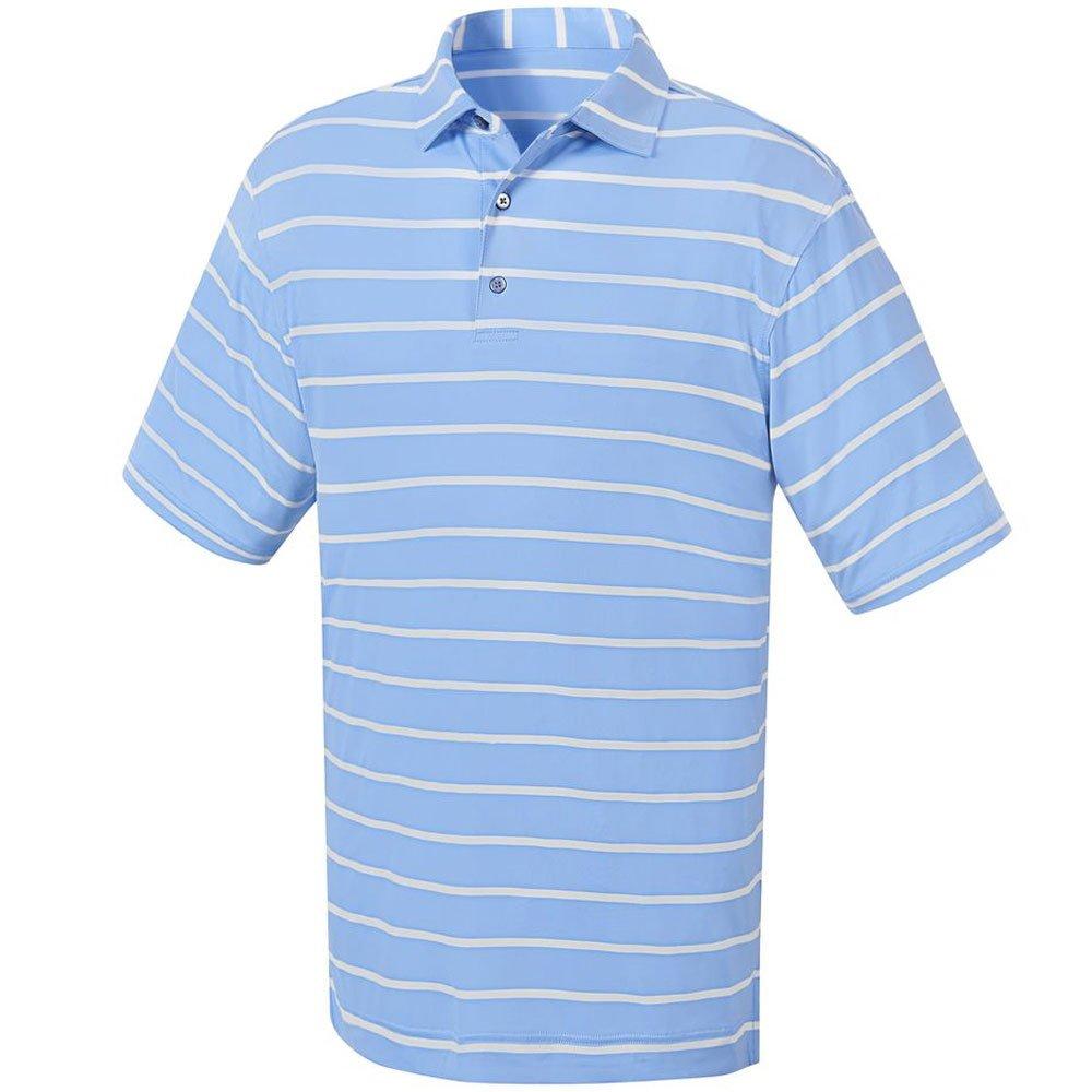 FootJoy Stretch Lisle rayas para cuello Polo Golf para hombre ...