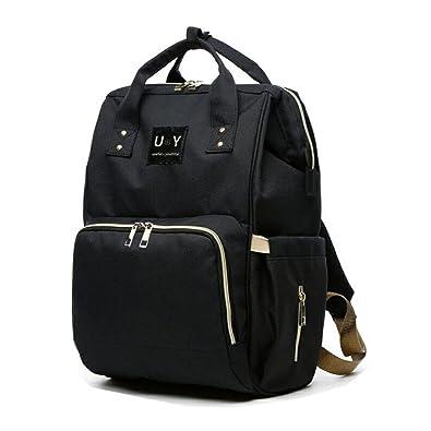 dc765b9652cb [UY] マザーズバッグ リュック マザーズリュック 大容量 軽量 背面ポケット 追加版 uy43