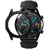 SIKAI – Capa amortecedora para relógio Huawei Watch GT 2. 46 mm, Smart Watch, anti-arranhões, à prova de choque, capa proteto