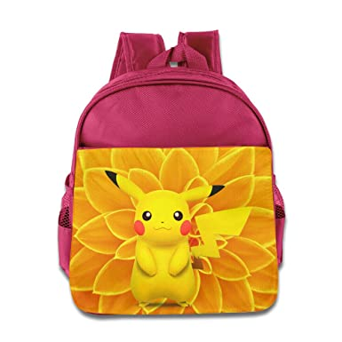 Image Unavailable. Image not available for. Colour  Pokemon Pikachu 1-6  Years Boys Girls BackPack ... 95245b1f1d0fb