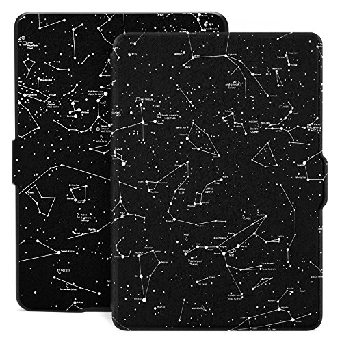 Ayotu Colorful Case for Kindle Paperwhite Auto Wake/Sleep Smart Protective Cover Case - Fits All Paperwhite Generations Prior to 2018(Not Fit All-New Kindle Paperwhite 10th Gen) K5-09 The Horoscope