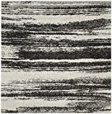 Safavieh Retro Collection RET2693-8479 Modern Abstract Dark Grey and Light Grey Area Rug (8′ x 10′)