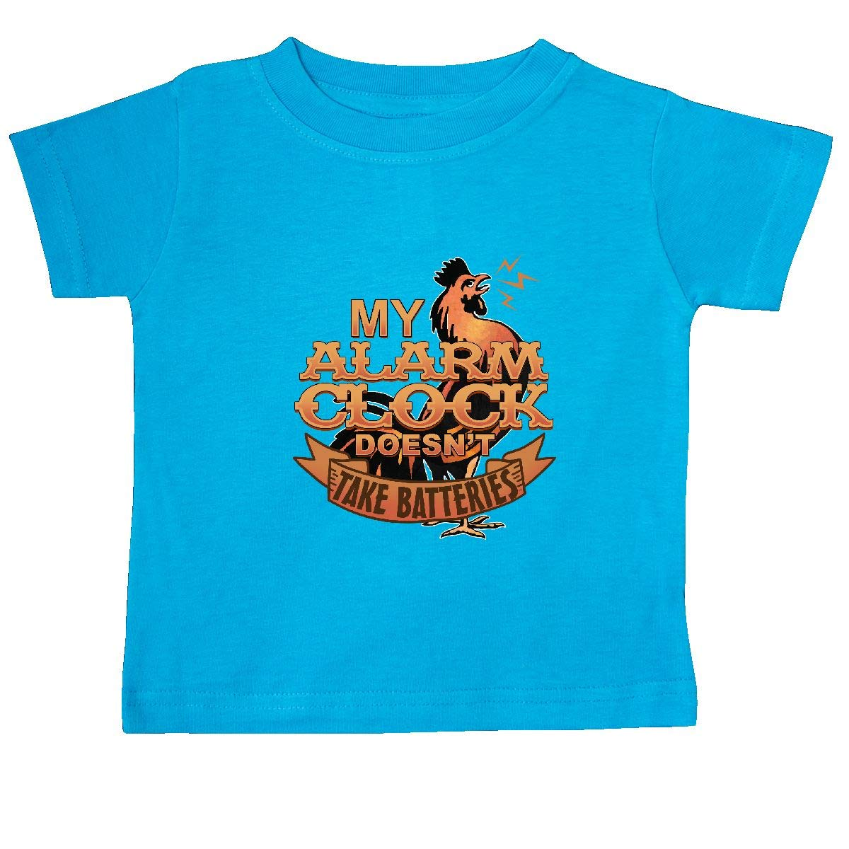 inktastic Rooster Funny Farm Alarm Baby T-Shirt