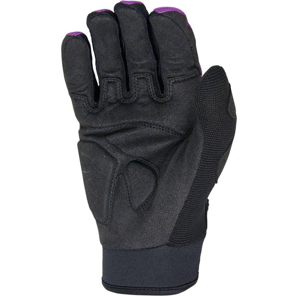 Scorpion Skrub Women's Textile Sports Bike Racing Motorcycle Gloves - Purple/Large by Scorpion (Image #1)