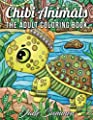 Chibi Animals: An Adult Coloring Book with Adorable Cartoon Animals, Cute Nature Scenes, and Relaxing Patterns for Stress Relief