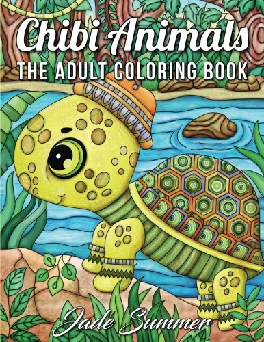 Chibi Animals: An Adult Coloring Book