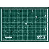 Analog Self Healing Durable PVC GREEN Cutting Mat Board Art Craft (A2)