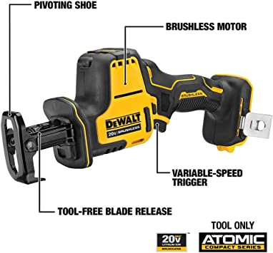 DEWALT DCS369B Reciprocating Saws product image 2