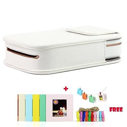 Amazon Prugna Hp Sprocket Photo Printer Case Pu Leather