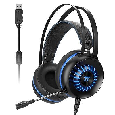 TaoTronics USB接続式 ゲーミングヘッドセット TT-EP007 送料込1,609円