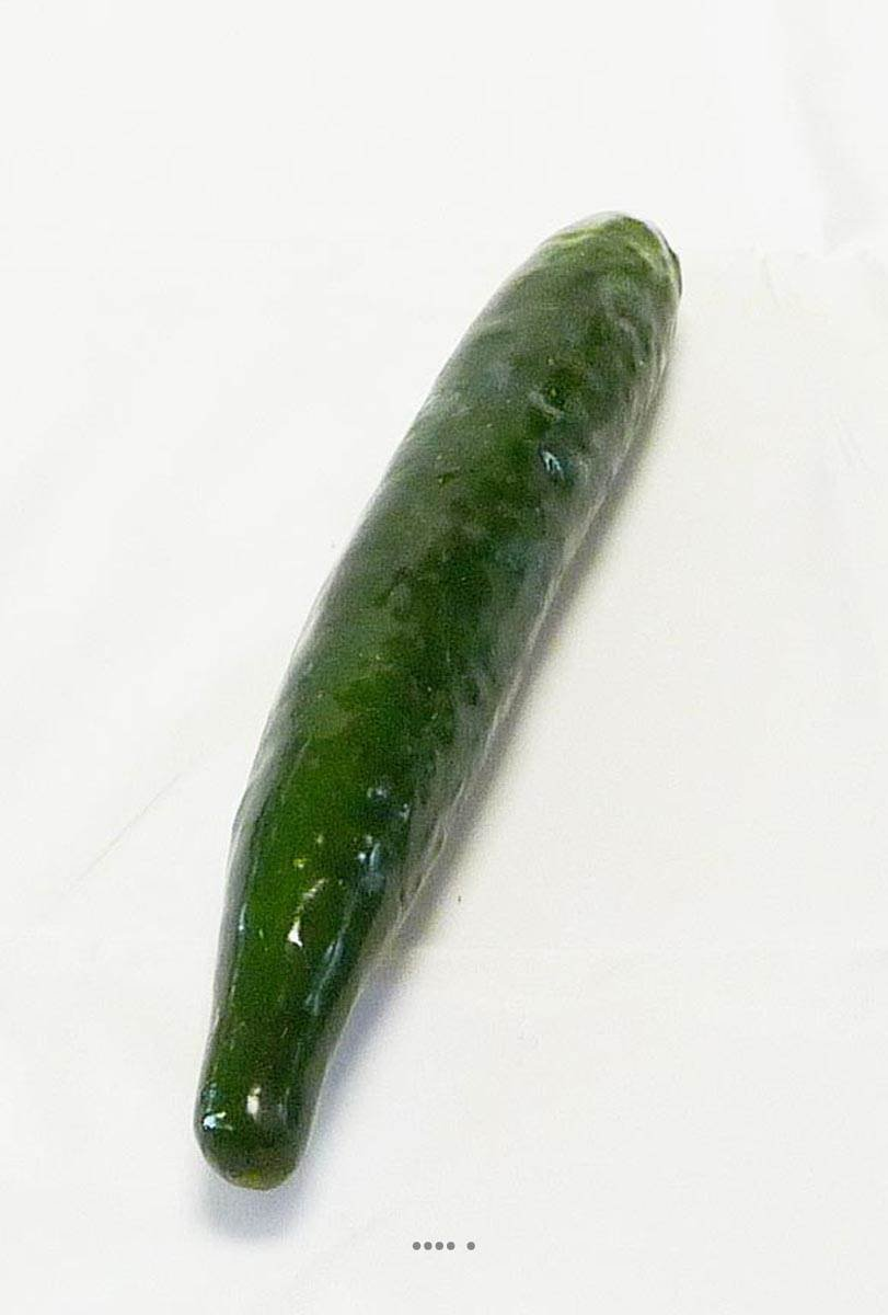 Artif-deco – Artificial Cucumber legume D 4 cm, Length 27 cm