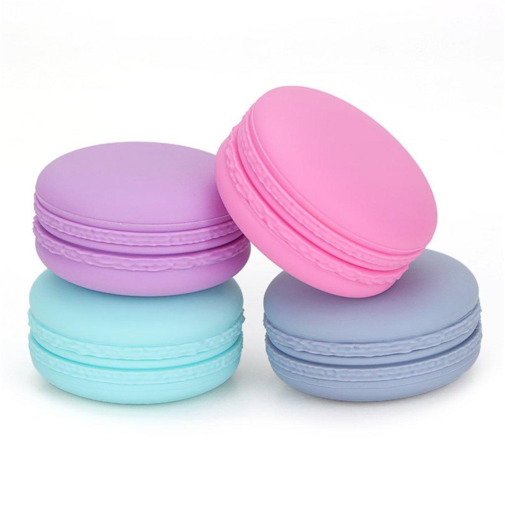 BrilliantDay Set de 4, 20 ml Silicone Crème Bouteille Pot Portable Container Bouteille -pour Pilule crème Shampooing, protection solaire, Articles de Toilette