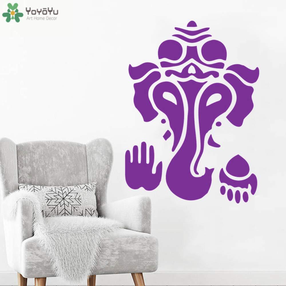 yaoxingfu Elefante de Bohemia Tatuajes de Pared Dios Indio Ganesha ...