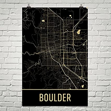 Amazon Com Boulder Poster Boulder Art Print Boulder Wall Art