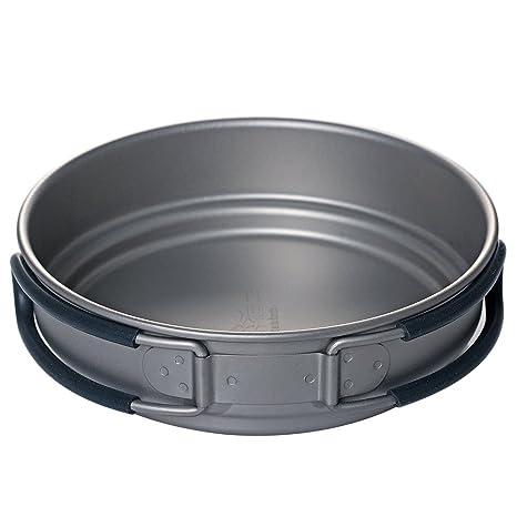XOT titanio batería de cocina (ligero antiadherente – Ollas y Camping senderismo picnic utensilios de