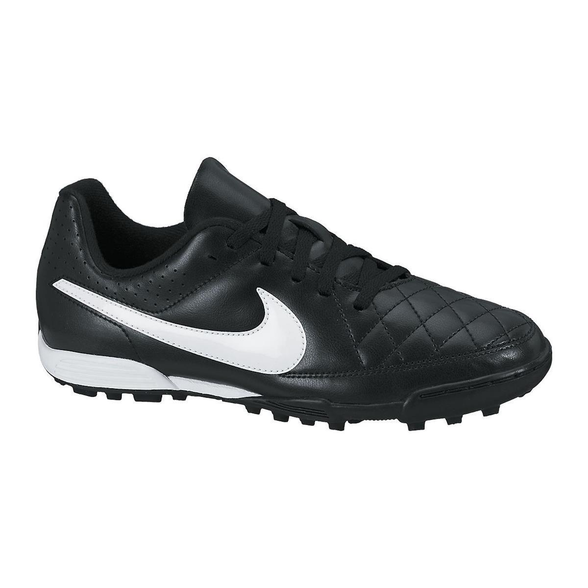 Nike Schuhe Kinder Jr tiempo rio ii TF schwarz Weiß, Größe 5.5Y