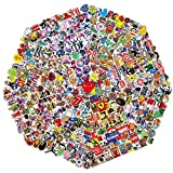Random Sticker 60-710 pcs/Pack Variety Vinyl Car Sticker Motorcycle Bicycle Luggage Decal Graffiti Patches Skateboard Stickers for Laptop Stickers for Kid and Adult (710pcs)