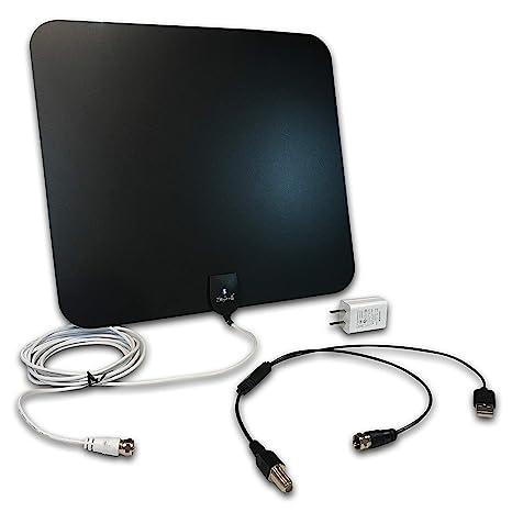 Styles II antena de televisión HD para interiores súper delgada ...