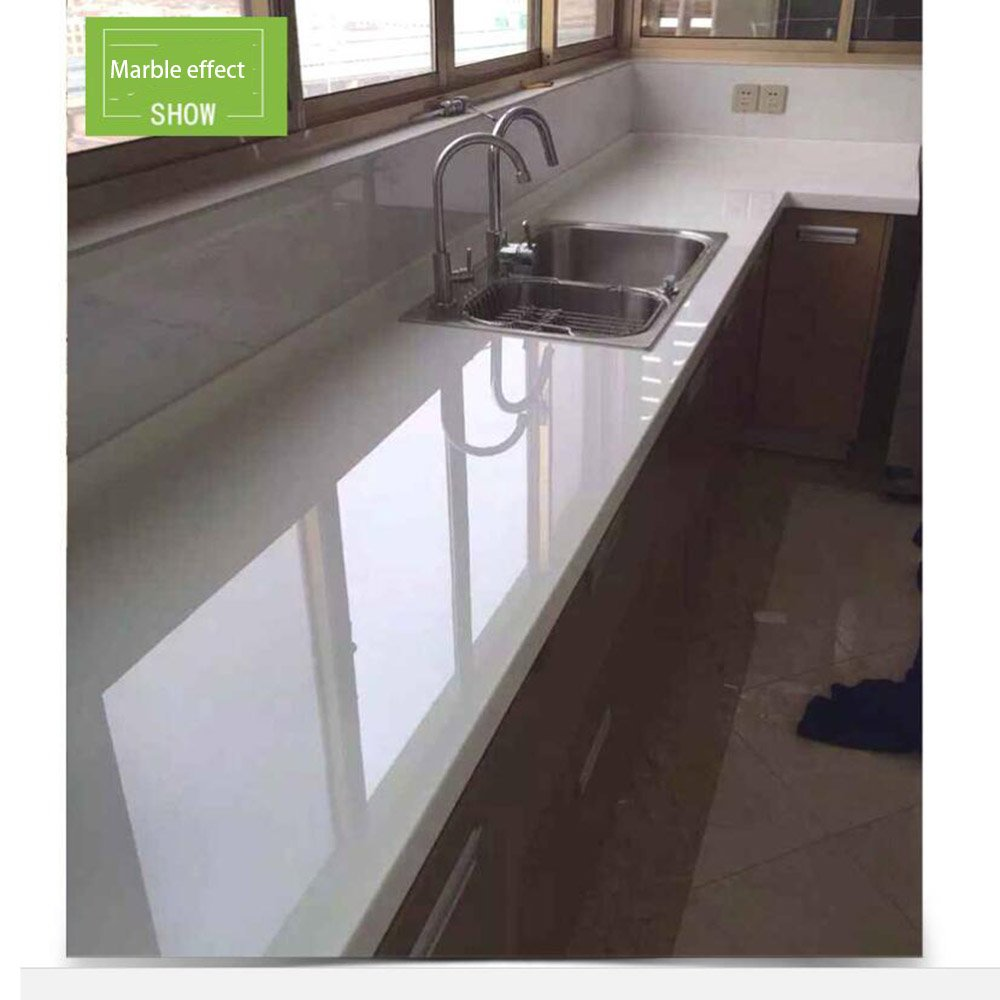 HOHO 2Mil Transparent Glossy Scratch Protective Protection Film Stickers Home Furniture Kitchen Decoration,152cmx1000cm by HOHO (Image #7)