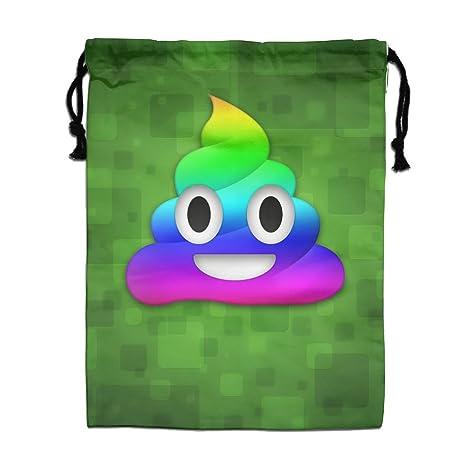 Rainbow caca Emoji cordón bolsa saco ligero Yoga deporte de ...