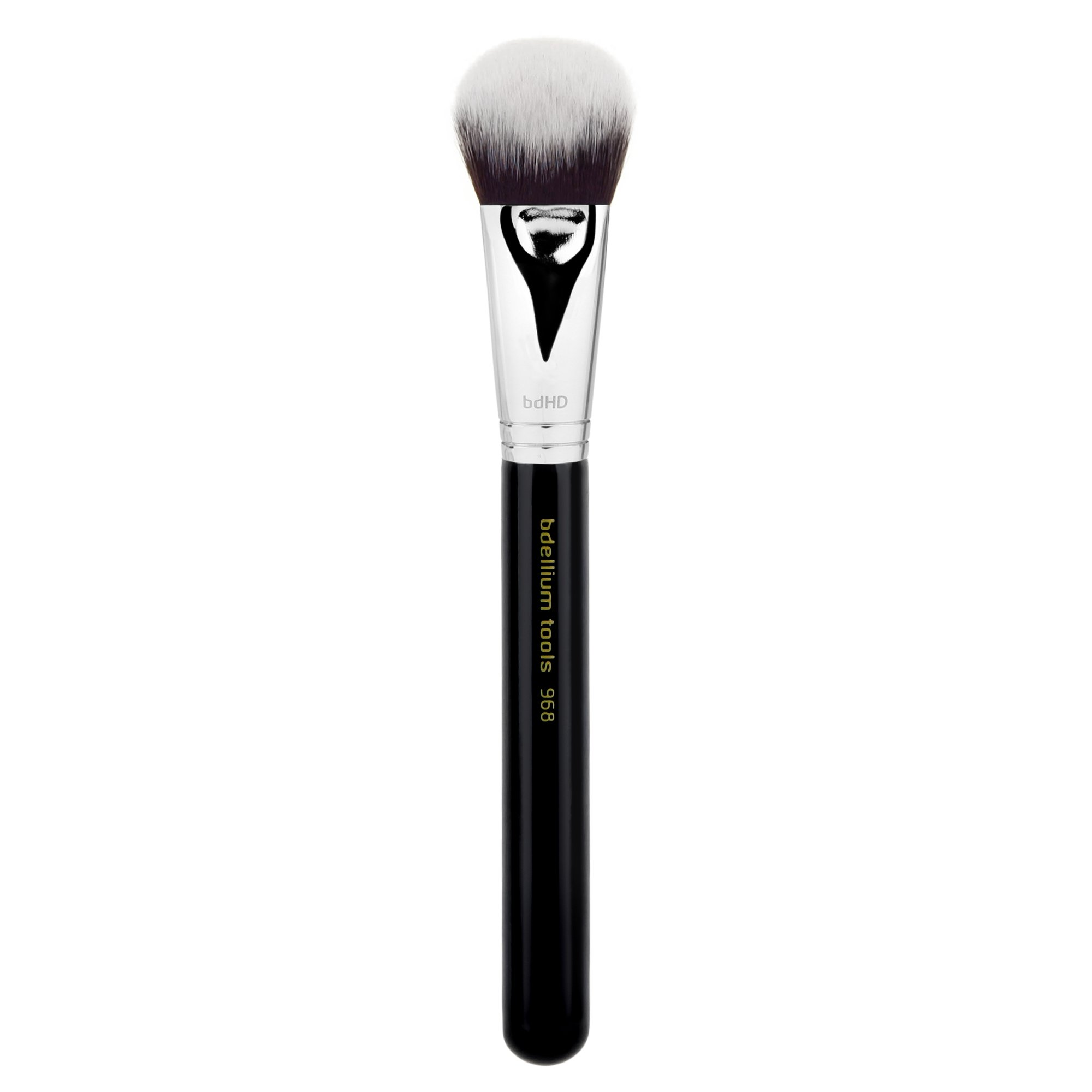 Bdellium Tools Professional Makeup Brush Maestro Series - BDHD Phase II Small Foundation / Contour 968