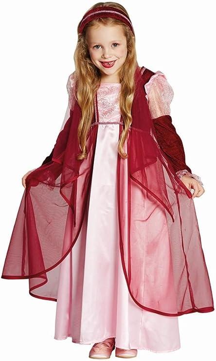 Disfraz princesa vestido de Ela weinrot cuento Castillo Medieval ...