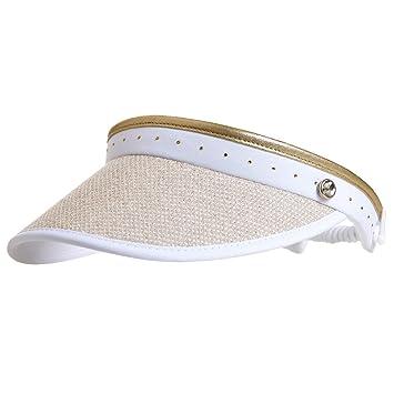 738e0bd0cca2e GOLFINO Ladies  golf visor with classy mesh White OS  Amazon.co.uk ...