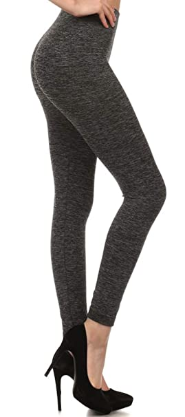 e65824eced665 ShoSho Women's Sexy High Waisted Seamless Body Shaping Winter Warm Fleece  Leggings (H.Charcoal w/Free Taupe Lace Mittens, L/XL) at Amazon Women's  Clothing ...