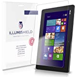 iLLumiShield - Asus Transformer Book T100 Screen Protector Japanese Ultra Clear HD Film with Anti-Bubble and Anti-Fingerprint – High Quality (Invisible) LCD Shield – Lifetime Replacement Warranty – [2-Pack] OEM / Retail Packaging