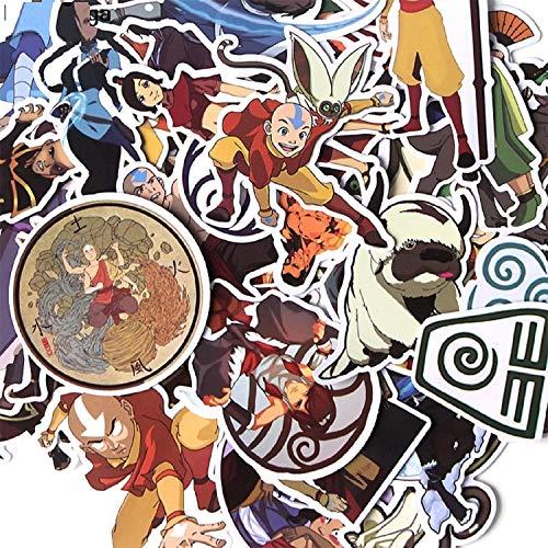 41pcs Avatar The Last Airbender Creative Badges DIY stickers PC Wall Notebook Phone case Motor Scrapbooking Album