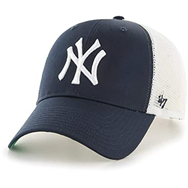 2511282f8 Amazon.com: '47 Brand MLB New York Yankees Branson Cap - Navy: Clothing