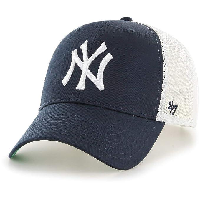 f18a300735b91  47 Gorra Trucker MVP Branson New York Yankees Brand - Azul Marino   Amazon.es  Deportes y aire libre