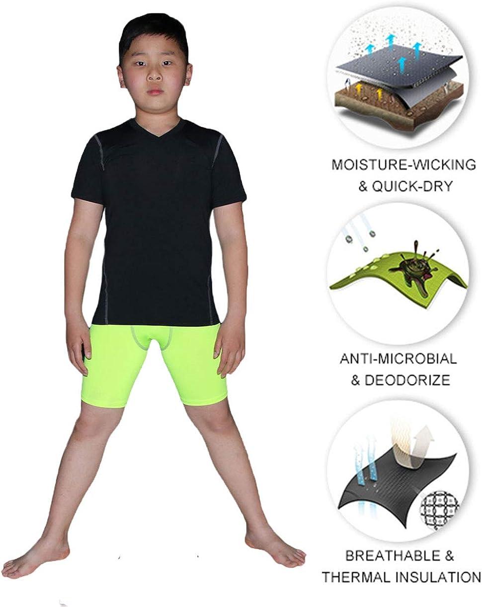 Clothing, Shoes & Jewelry Boys Active Base Layers Boys Athletic Base Layer  Compression Underwear Shirt & Tights Set 2 Pcs Top and Bottom  rahetamaddon.ir