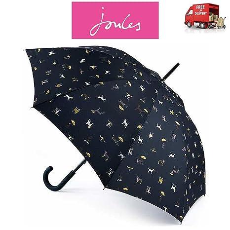 Joules Ringer Dogs Kensington - Paraguas de Senderismo (88 cm de Largo, 100 cm